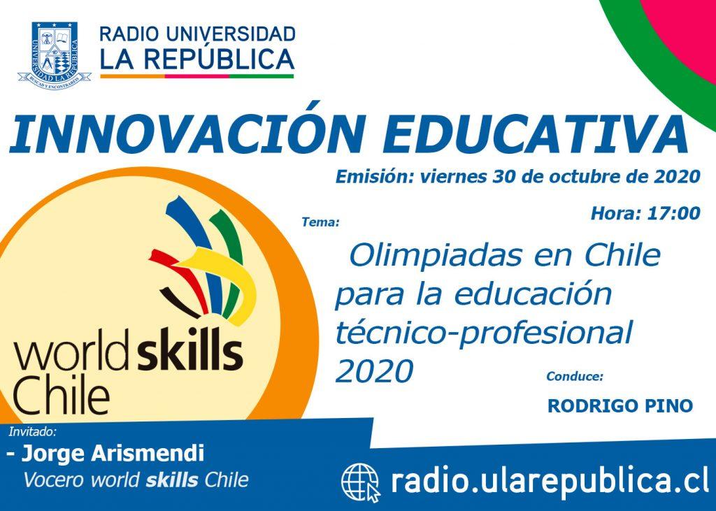 Olimpiadas 2020 Worldskills Chile para la educación técnico-profesional