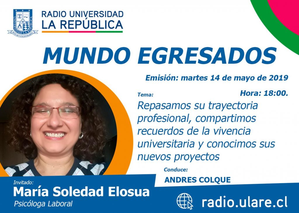 Mundo Egresados: Maria Soledad Elosua