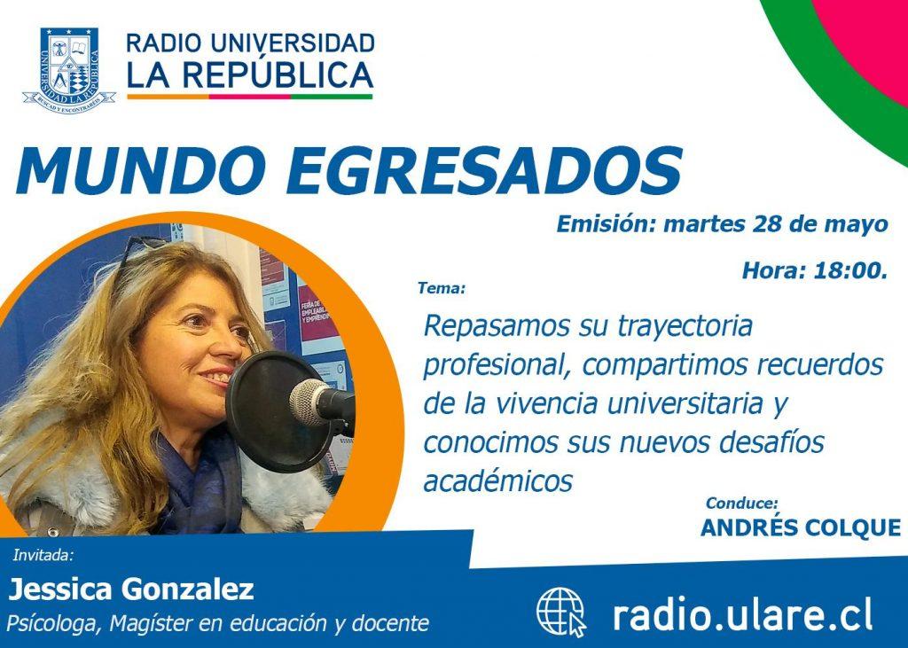 Mundo Egresados: Jessica González