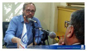 Helmut  Kramer, integrante de la Red de Sobrevivientes de Abusos Eclesiásticos
